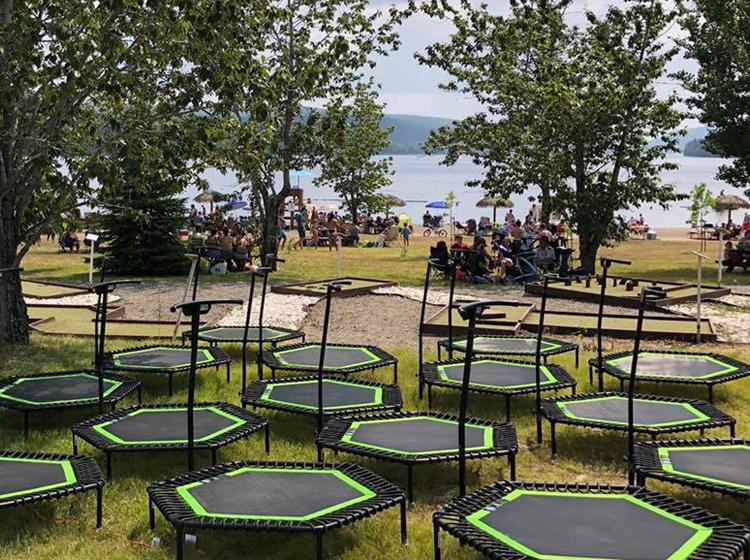 Jumping-Activités-Lac de L'Est